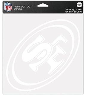 Houston Texans 8x8 White Team Logo Decal