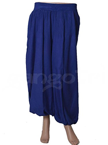 Trouser Afhgani Rayon Navy blue