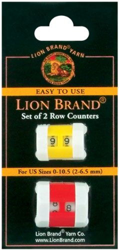 Lion Brand Yarn 400-5-4002 Row Counter, Set of 2, Colors may vary