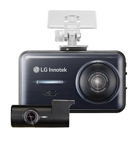 Lg Dash Cam  2 Channel Front Rear 1920 X 1080 High Res Dashboard Cameras  Mini Audio Video Recording Dashcam Blackbox  3 5 Inch Screen  3G G Sensor  Gps  Lane Departure Warning  32 Gb Micro Sd Card