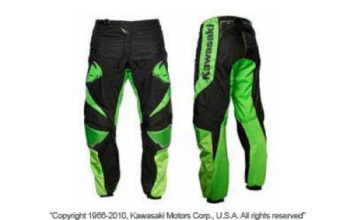 Thor Riding Pants - New Kawasaki Thor Phase Youth MX ATV Motocross Riding Pants Waist 20