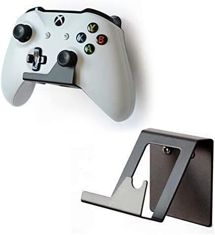 Microsoft Xbox One Controller Wall Mount Strong Sturdy Design Gamepad Hooks