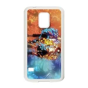 Stylish One Piece Design Samsung Galaxy S5 Mini Cell Phone Case Funda blanco 3