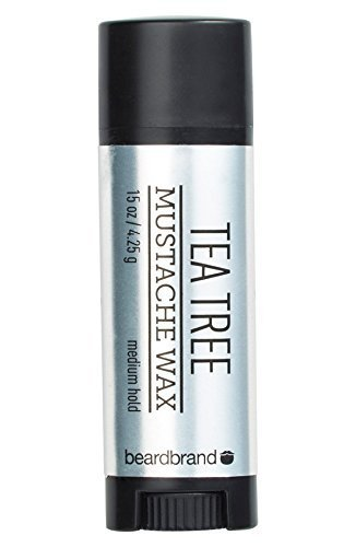 Beardbrand Tea Tree Mustache Wax by Beardbrand