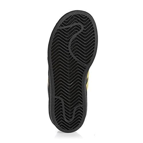 adidas Superstar C, Zapatillas de Deporte Unisex Niños Negro ((Negbas/Dormet/Dormet))