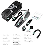 DEENKEE Car Vacuum Cleaner, 12V 3KPa Super High Power Suction Car Vacuum with 16.4ft Cable, Plugs into Lighter for Wet Dry/Dog Hair …