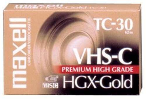 Maxell 203010 - High Grade VHS-C Videotape Cassette, 30 Minutes 203010 - EA 4222020