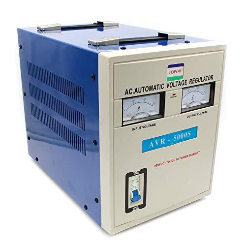 5000 Watt Voltage Step Down Transformer Regulator and Stabilizer Heavy Duty -