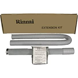 Rinnai FOT157 61 to 79.6-Inch Vent Pipe Extension Set by Rinnai 10