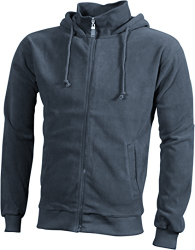 Hooded Carbon Microfleece Jacket Con In Fleece Giacca Trendy Cappuccio pYAaBWWT