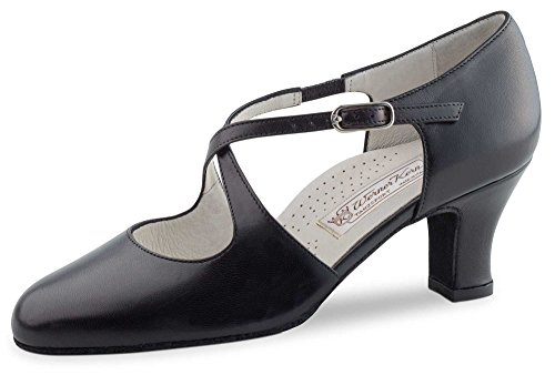 Cm De Danse Chaussures 6 Gilian Kern Noir Werner Cuir qwT868C