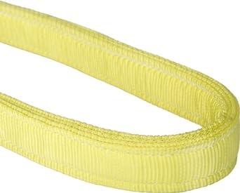 Mazzella EN4 Nylon Web Sling, Endless, Yellow, 4 Ply, Vertical Load Capacity