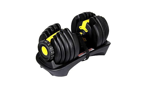 GDSZ Pesas Ajustables con Mancuernas Establecidas para Ejercicios En El Gimnasio En Casa Entrenador Personal para Músculos,Yellow: Amazon.es: Deportes y ...