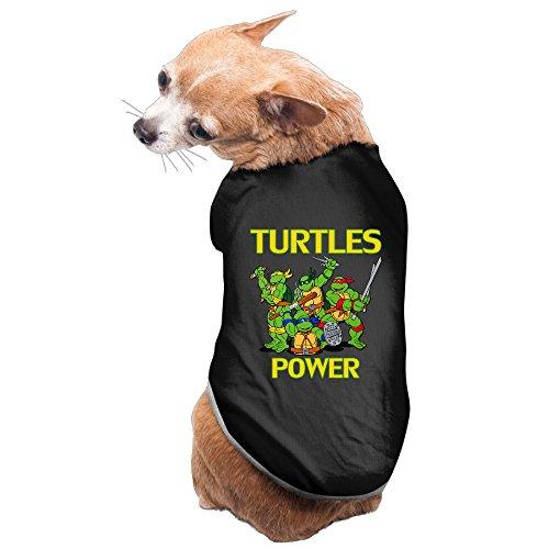 Cat Ninja Turtle Costume - CGH Seven Teenage Mutant Turtlesbrothers Dog T-Shirt SizeS Black