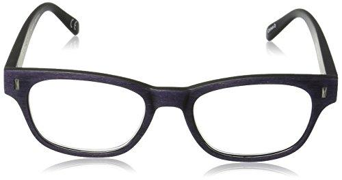 f4c7ca1cae08 Foster Grant Women's Adeline 1017547-250.COM Wayfarer Reading Glasses,  Purple, 2.5