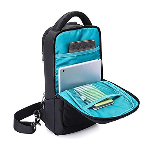 Amazon.com: Korean Fashion Man Chest Bag Waterproof Black Cell Phone 9.7 Inch Computer for IPAD Mini Travel Shoulder A413: Kitchen & Dining