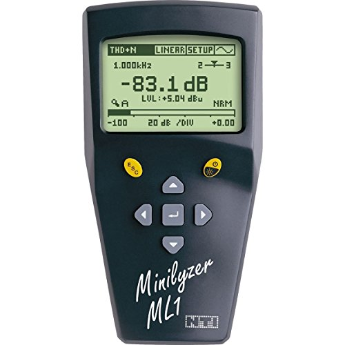 AVBcable.com NTI 600 000 011 Minilyzer ML1, Analog Audio Analyzer ()