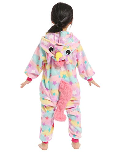 BELIFECOS Pink Star children Unicorn Cosplay Costume Onesie Pajamas For Boy 105 by BELIFECOS (Image #5)