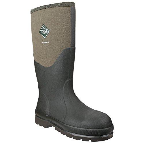 Muck Boots Chore Classic - Stivali Wellington di Sicurezza - Unisex (38 EU) (Muschio)