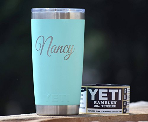 Personalized Tumbler - Engraved Yeti Rambler - 20 oz Yeti - 30 oz Yeti - Personalized Yeti - Yeti Gift - Laser Engraved Yeti - Yeti Tumbler - Yeti Cup - Yeti Monogram by YETI