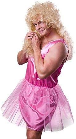 TH-MP 5381/Disfraz Hombre Rosa Bailarina Ballet Bailarina de Se/ñor Disfraz Soltero