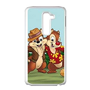 LG G2 Cell Phone Case White Disney Private Pluto Character Chip OOR