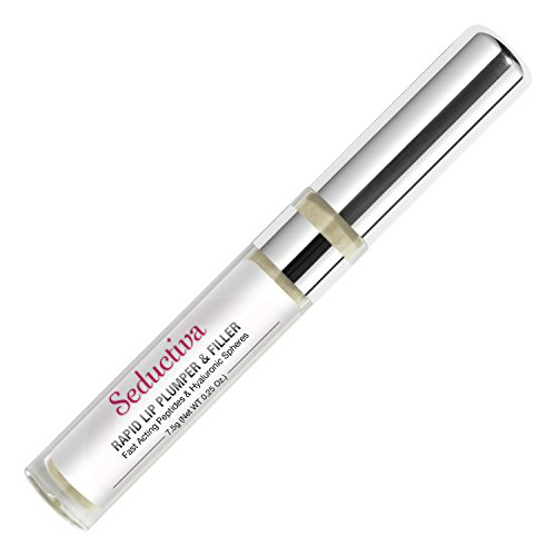 Seductiva Rapid Lip Plumper & Filler | With Fast Acting Peptides & Hyaluronic Spheres for More Voluminous - Lip Plumper More