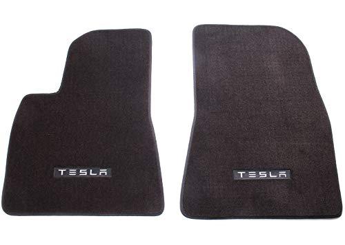 Tesla Model 3 2017-2019 Premium 2PCS Carpet Floor Mat - Front Set ()
