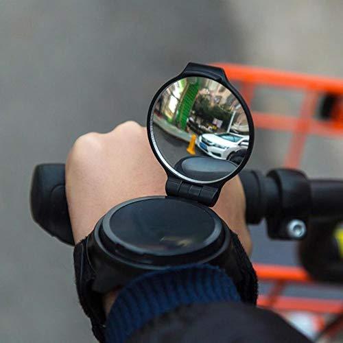 Shumo Fahrrad Reflektor Handspiegel Fahrrad Spiegel Mit Handgelenk R/ückspiegel G/ürtel R/ückspiegel Radfahren Zubeh?r