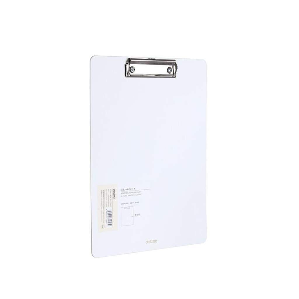 XUANLAN A4 Dicke Zwischenablage, einfache Harte Ordner kann aufgehängt Werden, Kunststoffplatte Clip Büromaterial Board Clip (Farbe   Blau, Größe   5 Pack) B07MC81L8Y   Günstigen Preis