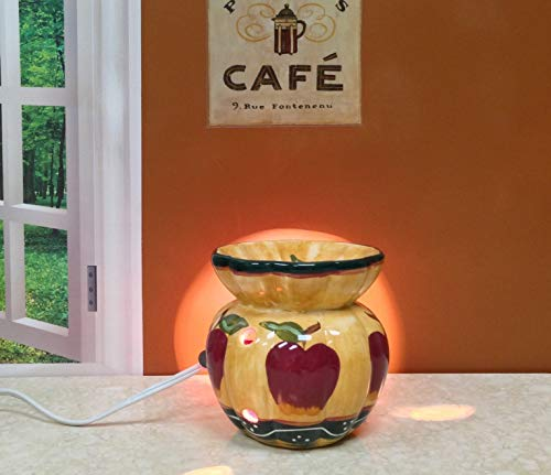 Country Apple Electric Tart Burner, 84165 by ACK