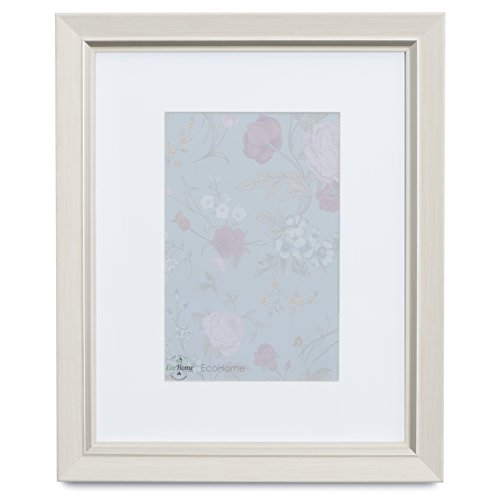 EcoHome 8x10 Picture Frame or 5x7 - Matted, Light Wood Tone by Eco-home (Image #3)