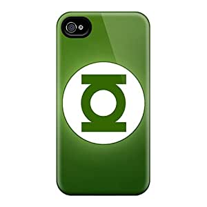 Iphone 4/4s DIo12897dgvV Customized Beautiful Green Lantern Series Great Hard Phone Cases -AaronBlanchette