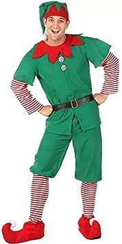 Carnevale e Cosplay 170cm, Donne Perfetto per Natale thematys Costume da Elfo Natalizio per Donna Uomo e Bambino