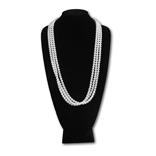 Black Velvet Extra Tall Necklace Display - 18'' Tall