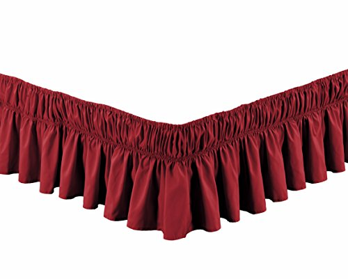 Burgundy King Ruffle (Wrap Around 16