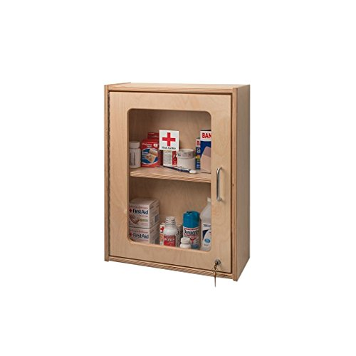 Whitney Brothers Medicine Or First Aid Wall Mount Cabinet Childrens Storage Furniture