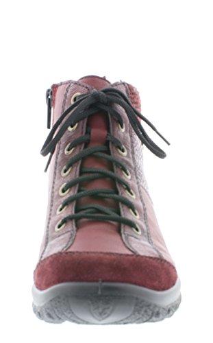 Vino 35 Chaussure Pour Pomerol schwar Vinaccia Classique Rieker L7143 Bordeaux Femmes Rot qwx674q