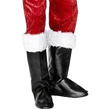 Smiffy's Men's Santa Boot Covers