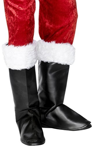 Santa Boot Covers Costume Accessory ()