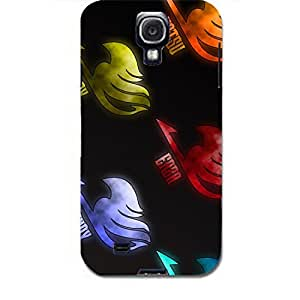 Fairy Tail Unique Cartoon Characters 3D Durable Phone Case Skin For Samsung Galaxy s4 i9500