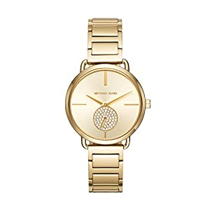 Michael Kors Womens Analogue Quartz Watch with Stainless Steel Strap MK3639