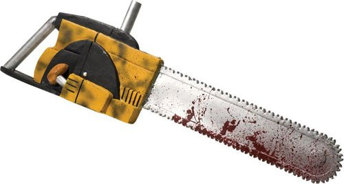 Leatherface Chainsaw w/ Sound FX