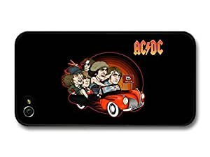 diy case ACDC Band Illustration Riding Car to 666 case for iPhone 6 4.7
