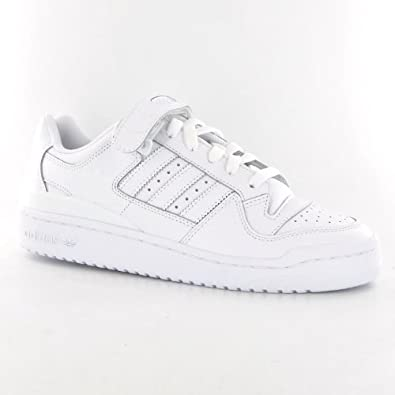 new concept d45df c2c2a Adidas forum Lo RS White Leather Mens Trainers Size 9