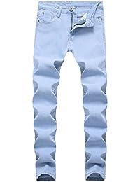 Men's Skinny Slim Fit Stretch Straight Leg Fashion Jeans Pants
