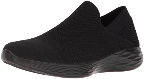 You Nero black Skechers Donna rise Sneaker Infilare OdqfwSq