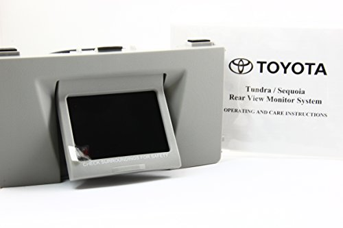 new-07-08-09-toyota-oem-genuine-sequoia-tundra-rear-view-back-up-monitor-only-graphite-color