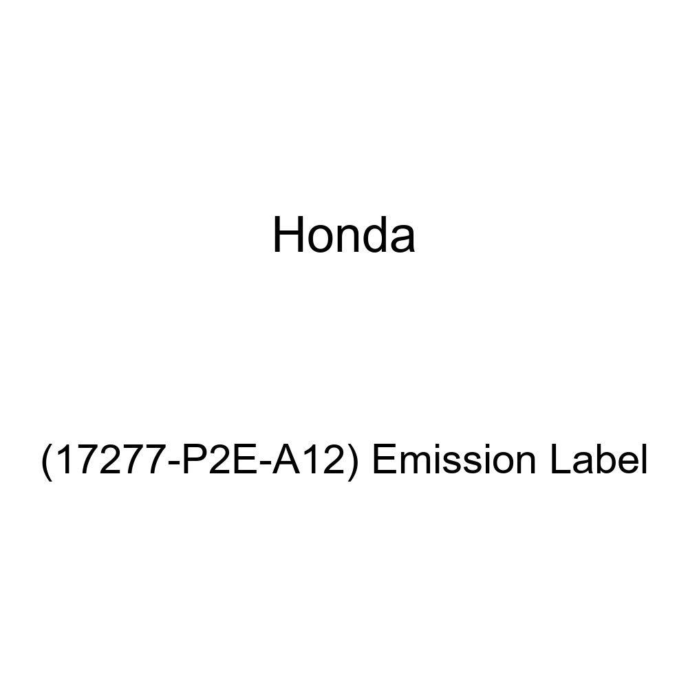 17277-P2E-A12 Emission Label Genuine Honda