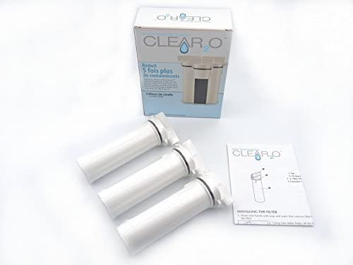 6 Pack Clear2o Water Filters New in box CWF1034 Filter